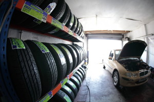 Tyres and mot centre