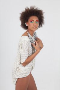 Model shoot for Make up