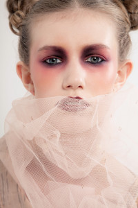 Model shoot for make up school