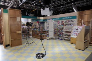 Coronation street Kabin studio shot